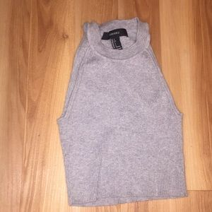 A tank top/ crop top from forever 21